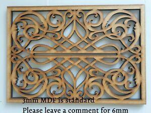 A4-Decorative-Cabinet-Screen-Panel-MDF-Pattern-Stencil-5