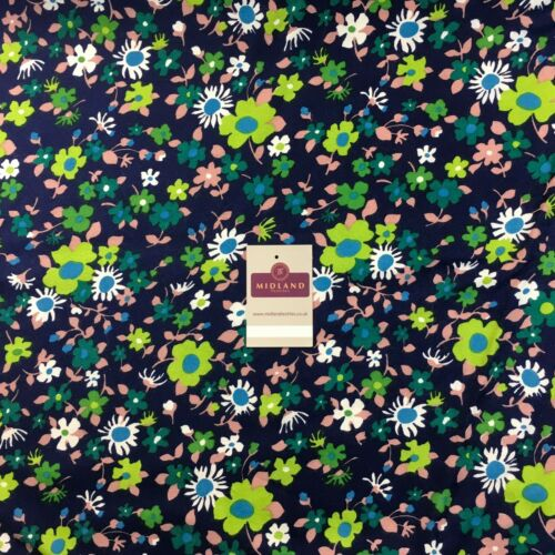 """Ditsy Floral Textured Winter dress fabric 35/"""" Wide M786 Mtex"""