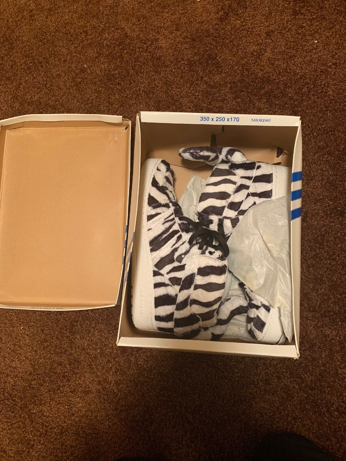 Jeremy Scott White Tiger..Brand New