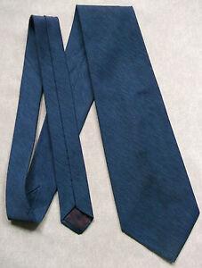Utile Vintage Cravate Homme Large Cravate Rétro Fashion Michelsons Of London Bleu Foncé-afficher Le Titre D'origine Cadeau IdéAl Pour Toutes Les Occasions