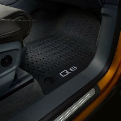 Kofferraumwanne für Audi Q8 2019 Laderaumwanne Gummiwanne Motiv Matte Wanne