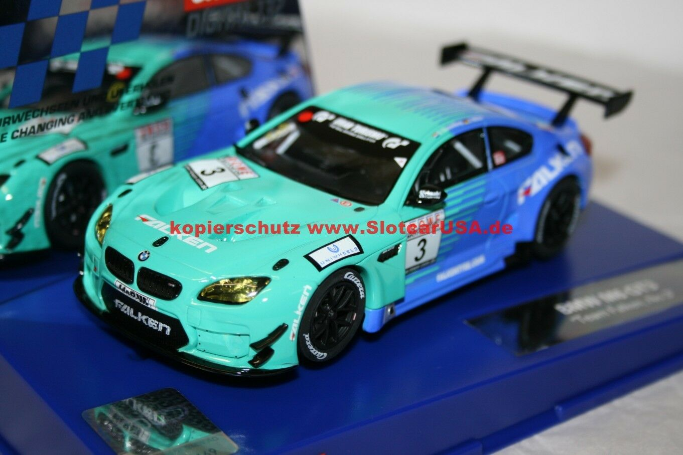 Carrera Carrera Carrera Digital 132 30844 BMW M6 GT3 Team Falken Nr. 3    Zuverlässiger Ruf  157302