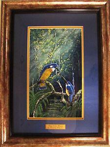 Brenda-Roberton-original-pastel-titled-039-King-Fisher-Haven-039-Australia