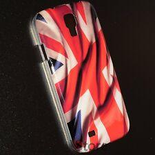Cover Custodia Per Samsung Galaxy S4 i9500 Bandiera Inghilterra UK + Pellicola