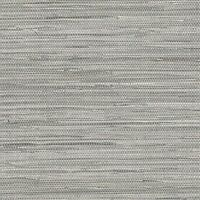 Norwall Textures 4 Faux Grasscloth Wallpaper Gray, New, Free Shipping on sale