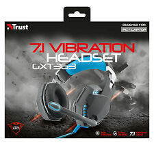 TRUST GAMING SERIES 20407 GXT363 7.1 SURROUND SOUND BASS VIBRATION USB HEADSET
