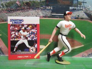 1988  FRED LYNN Starting Lineup Baseball Figure & Card - BALTIMORE ORIOLES