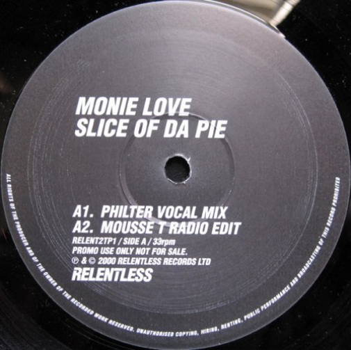 Slice Of Da Pie ( Mousse T Full Length Version ) - ( El-B  (US IMPORT) VINYL NEW