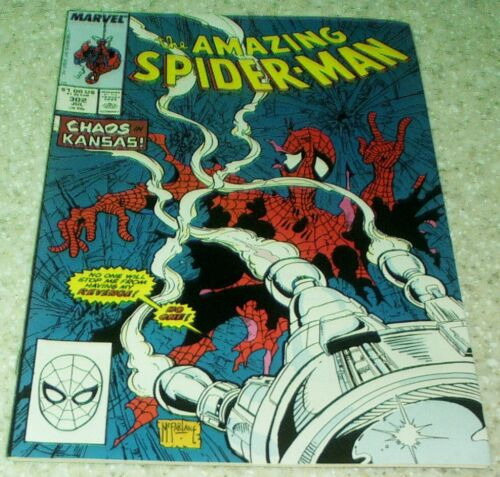 Amazing Spider-man 302 1988 McFarlane 50/% off Guide! NM- 9.2
