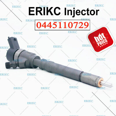 Erikc 0445110729 Bosch Diesel Fuel Injector Assy 33800 27900 For Cummins 5263319 Ebay
