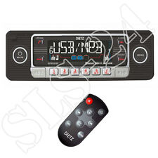 Retro Look Autoradio Bluetooth USB SD CD MP3 Design Radio Oldtimer Style schwarz