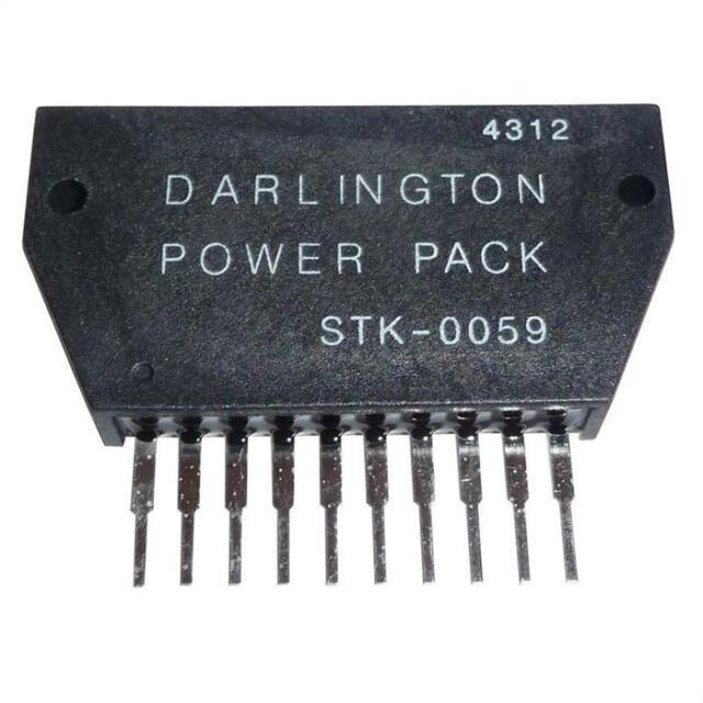 Hybrid-IC stk0040; Power audio amp