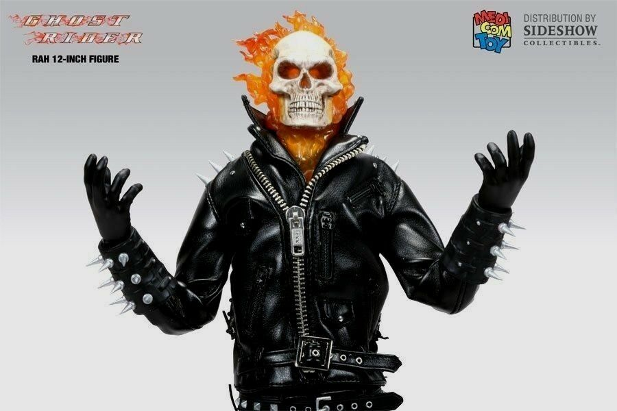 Medicom Real Time Heroes Ghost Rider 1 6 Figure