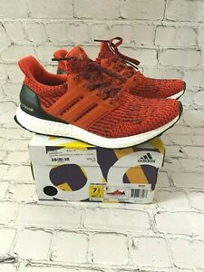 Men's Adidas Ultra Boost 3.0 Energy Red