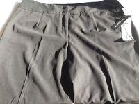 Sandro Women Black Dress Pants Cropped/capri 20w L21
