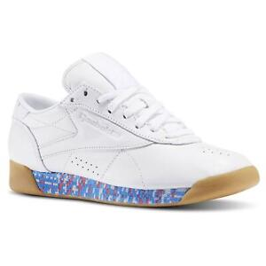 REEBOK-CLASSICS-WOMEN-039-S-FREESTYLE-LO-039-OLD-MEETS-NEW-034-TRAINERS-SHOES-DEADSTOCK