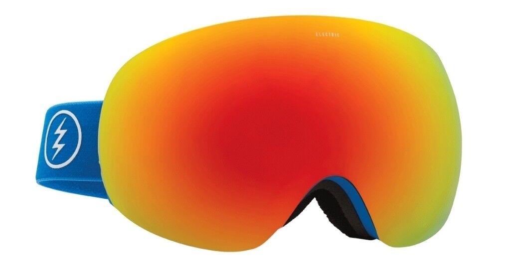 NEW Electric EG3 Royal Blau Blau Royal ROT Chrome Mirror  Herren ski snowboard goggles Ret200 35ac5a