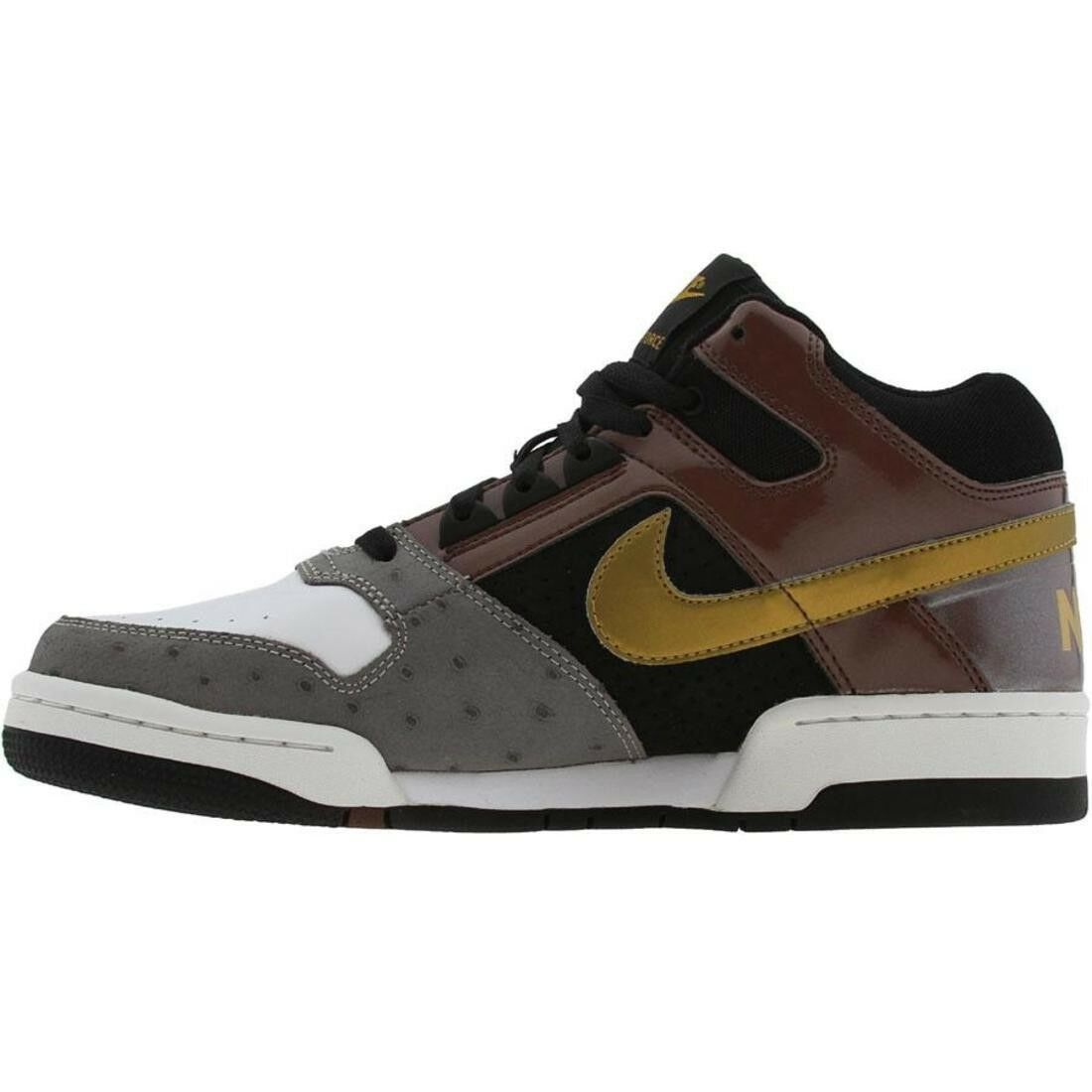 312031-271 Nike Delta Force 3 4 Deluxe Roble Oscuro oro Metálico Negro