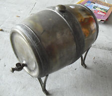 Antique Dutch Silver Pat Pending Marked Barrell or Keg LOOK