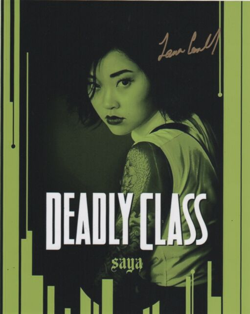 Lana Condor Deadly Class Autographed Signed 8x10 Photo COA EE6