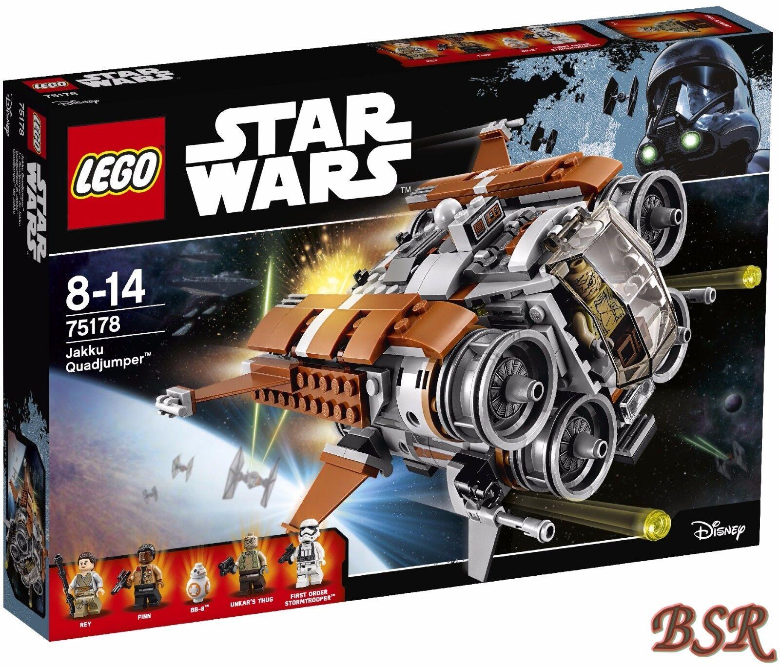 LEGO ® Star Wars ™: 75178 Jakku quadjumper ™ & 0.€ Spedizione & Scatola Originale & Nuovo