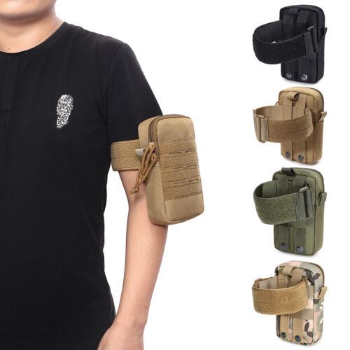 Tactical Molle Arm Pouch Waist Bag EDC Tool Bag Mobile Phone Case Bag