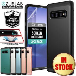 For-Samsung-Galaxy-S10-case-S10-Plus-Case-ZUSLAB-Hybrid-Shockproof-Slim-Cover