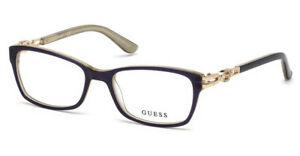 NEW-GUESS-2677-53090-Shiny-Blue-53mm-Eyeglasses