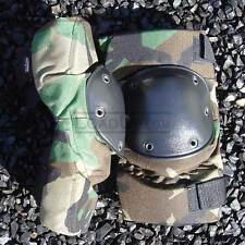 SMALL-Knee Pads All Terrain Tactical Woodland Camo