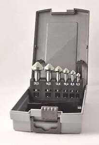 Kegelsenker Entgratungssenker Satz 6,3-20,5 mm 6-tlg HSSG DIN 335 C 90°