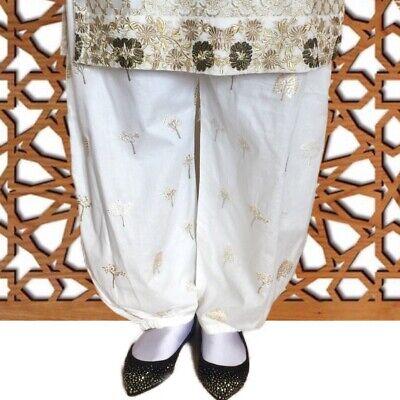 Amichevole Genuine Le Idee Di Gul Ahmed Crema Beige Ricamato Shalwar L 20% Di Sconto Vendita £ 22-