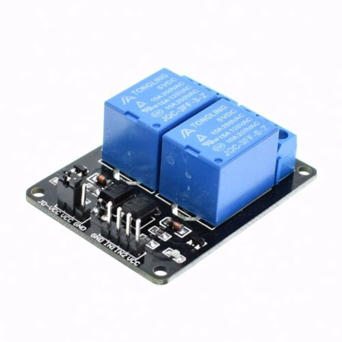 2 Kanal Relais Modul 5V//230V Optokoppler Protection 2-Channel Relay DSP AVR PIC
