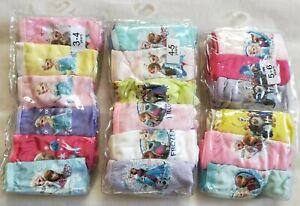 BNIP undies Paw Patrol knickers 6 pack girls Briefs underwear panties cotton
