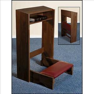 Folding-Kneeler-Walnut-Stain-Maple-Hardwood