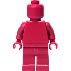 Monofig Lego Monochrome Plain Minifigure Figurine  New Minifigure