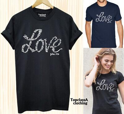 John 3:16 The Son Of God Jesus Christ Bible Scripture God/'s Love Men/'s T Shirt