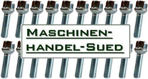 20 Radschrauben für original Mercedes Benz DB Alufelgen M12 x 1.5 x 40 Kugelbund