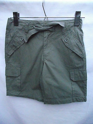 BNWT Boys Sz 14 Coude Mail Brand Khaki Designer Cargo Shorts
