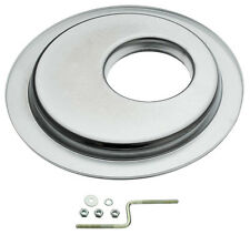 "Chrome 14"" HEI Off-Set Offset Air Cleaner Base Fits Holley Chevy Ford Mopar V8"