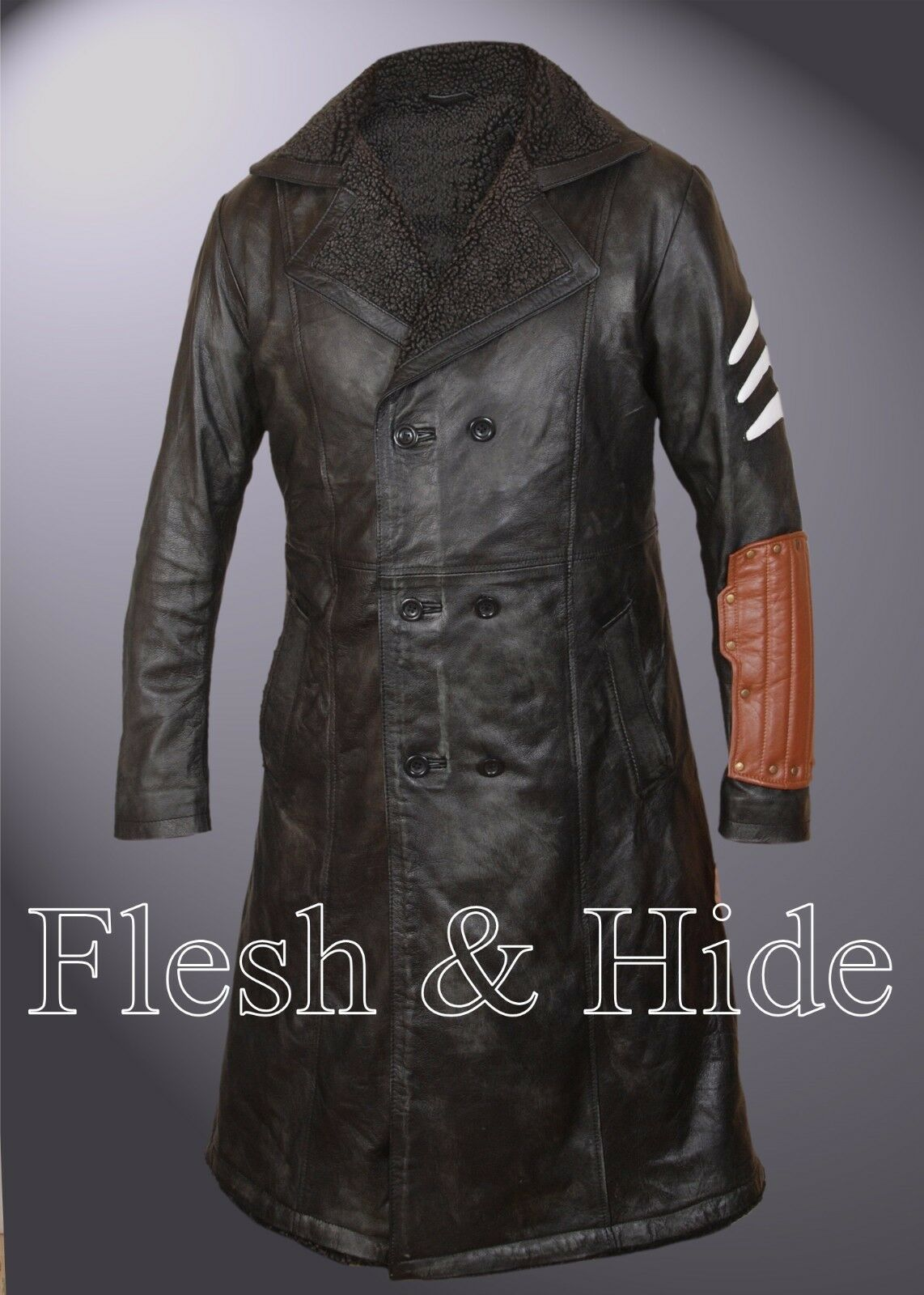 Suicide Squad Captain Boomerang Faux Fur Lined Jai Jai Jai Courtney Coat | Haltbarer Service  7d6974