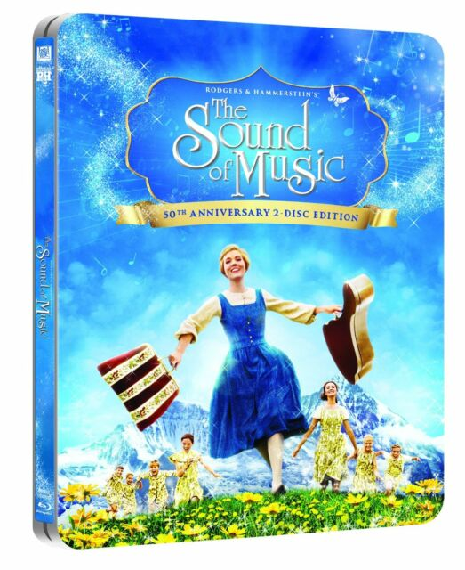 The Sound of Music 50th Anniversary Limited Edition Steelbook Blu-ray UK Exclusi