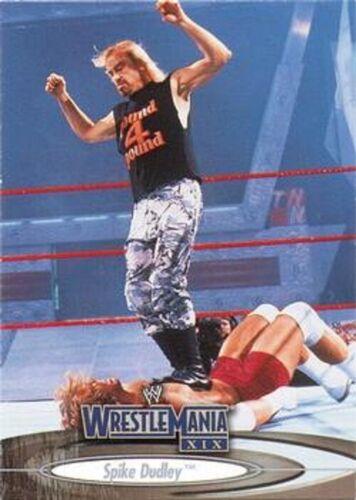 WWE WRESTLE MANIA XIX Base//Base Cartes 001 To 090 par Fleer 2003