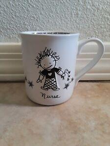 NURSE-Coffee-Mug-White-Black-Cup-Marci-Enesco-Children-Of-The-Inner-Light-2003