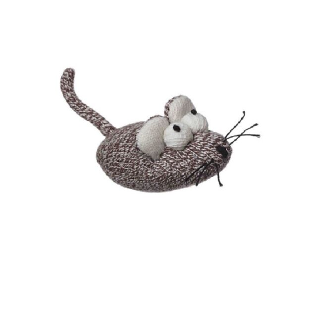 Sock Pals Mouse for Cat Toy - Filled with Genuine organic cat nip - 12pc