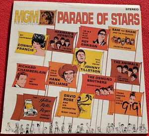 MGM Records Parade Of Stars LP 1965 Original Vinyl Album - Roy Orbison, Osmonds