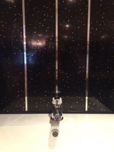 Shower Wall Panel Kit PVC Covers 2m x 2.6m Bathroom Cladding Wet Wall Panels
