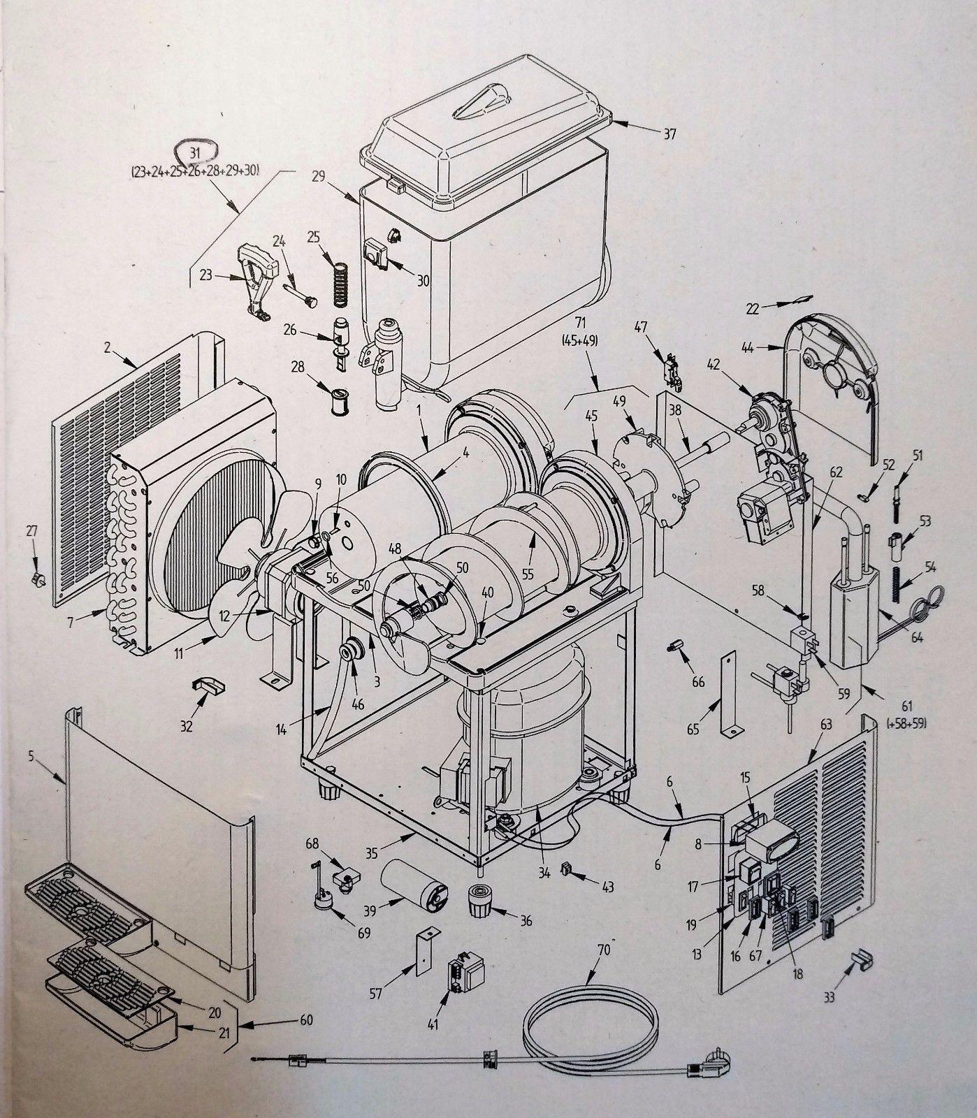 GBG GRANITIME Slush Machine Parts for sale online   eBay on