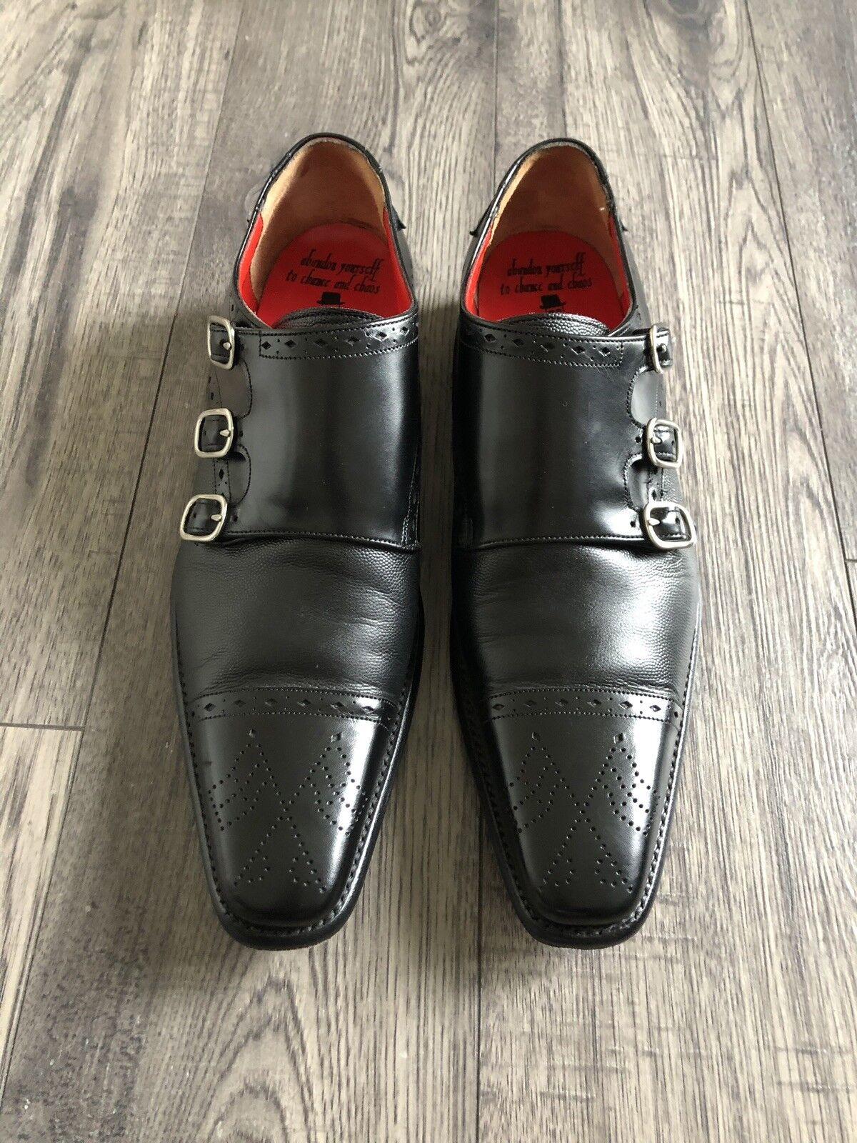 Jeffery West Triple Monk shoes