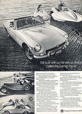 Classic Vintage Advertisement Ad D73 Champion 1973 MG Midget