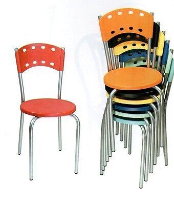 Sedia sedie poltrone tavoli cucina cucine metallo poltrona for Sedie cucina metallo